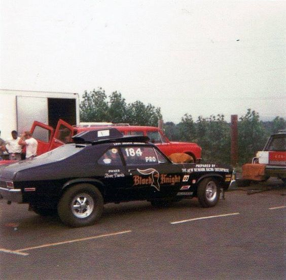 Vintage Drag Racing Pro Stock The Black Knight Drag Racing