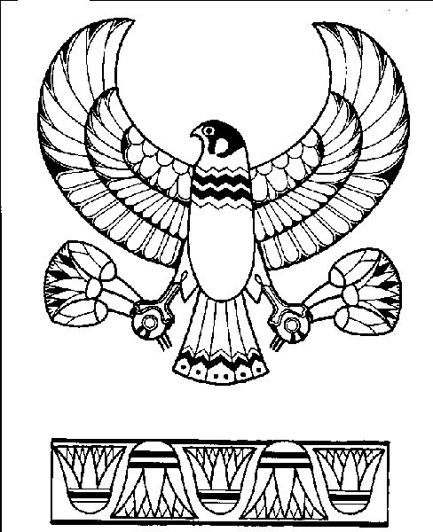 hat coloring pages ancient egypt - photo#32