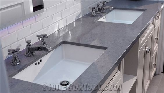 Man-Made Quartz Stone Kitchen Countertops Fit for Building&Flooring Especially for Reception Countertop,Work Tops,Reception Desk,Table Top Design,Office Tops - Bestone Quartz Surfaces Co., Ltd.