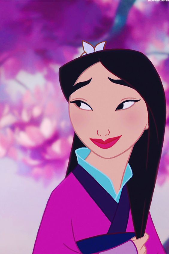 Mulan was my childhood role model. She's flawless!