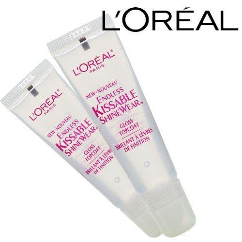 L'OREAL Endless Kissable ShineWear Lip Gloss Top Coat $2.99