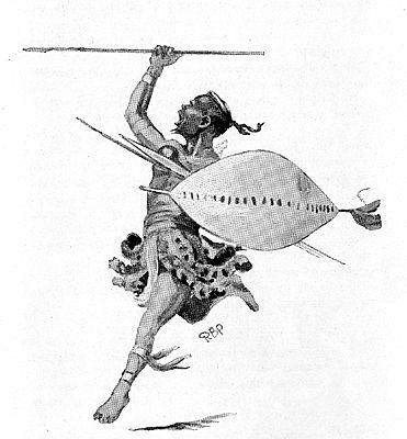 zulu tattoos | Zulu Warrior Drawings | Black Empowerment ...