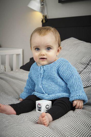 10 01. rätstickade basplagg till baby | Bebiströjor, Gör det