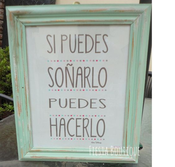 Cuadros con frases vintage deco shabby chic marcos de - Marcos de cuadros vintage ...