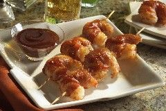 Bacon-Wrapped Shrimp Skewers