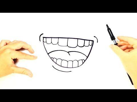 Cómo Dibujar Una Boca Para Niños Dibujo Fácil De Una Boca Paso A Paso Youtube Dibujo Paso A Paso Dibujos Para Niños Dibujo Fácil