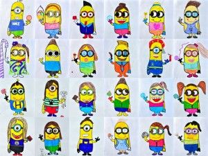 "2 Templates of ""Minions Avatar"""