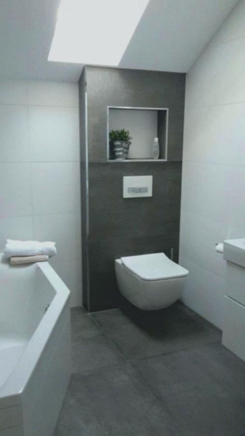 Grau Badezimmer Modern Klein   julien42 wallideen