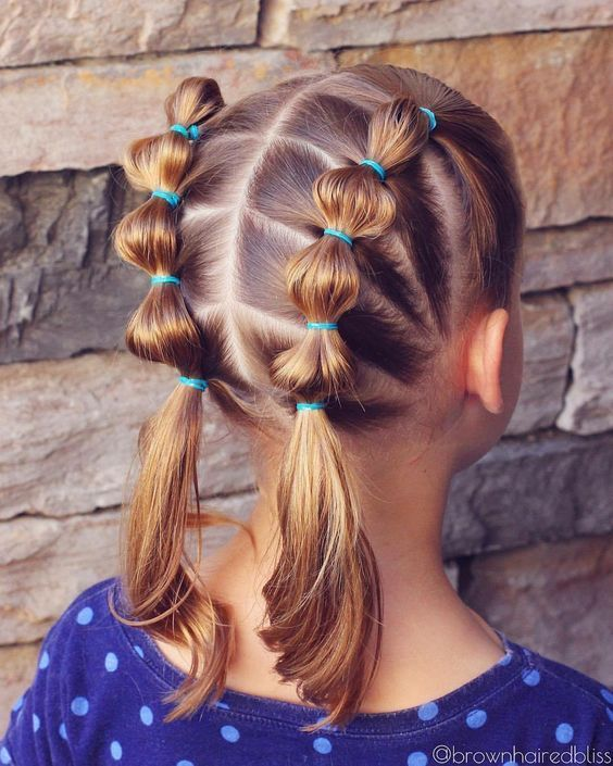 Simple And Beautiful Hairstyles For School For Every Day
