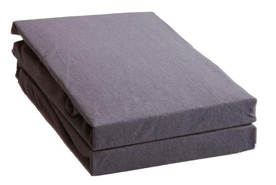 Doppelpack zum Sparpreis - Kinder Spannbetttuch, Spannbettlaken, 100% Baumwolle Jersey, passend für Kinder- und Babybettmatratzen 70x140 cm in vielen Farben (weiss)