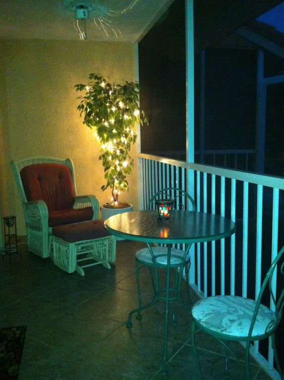 Falling Waters Romantic Nights on the Balcony