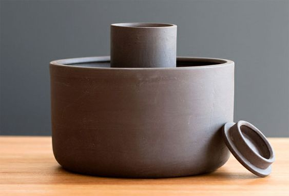 A self-watering planter for use indoors or out by Joey Roth