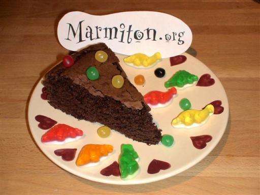 écoliers : Recette de Gâteau au chocolat des écoliers - Marmiton ...