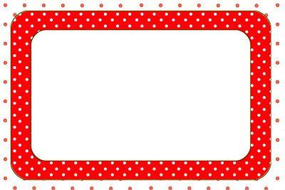 Imprimibles de lunares rojo y blanco.❤️ ♡ ~ Ʀεƥɪииεð╭•⊰✿ © Ʀσxʌиʌ Ƭʌиʌ ✿⊱•╮