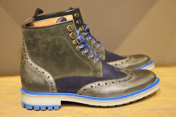 Boots d'esprit montagnard chez Schmoove #shoes #chaussures #boots #montagnard…