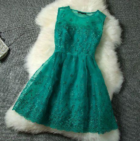 Fashion Round Neck Sleeveless Dress AX092118ax on Luulla