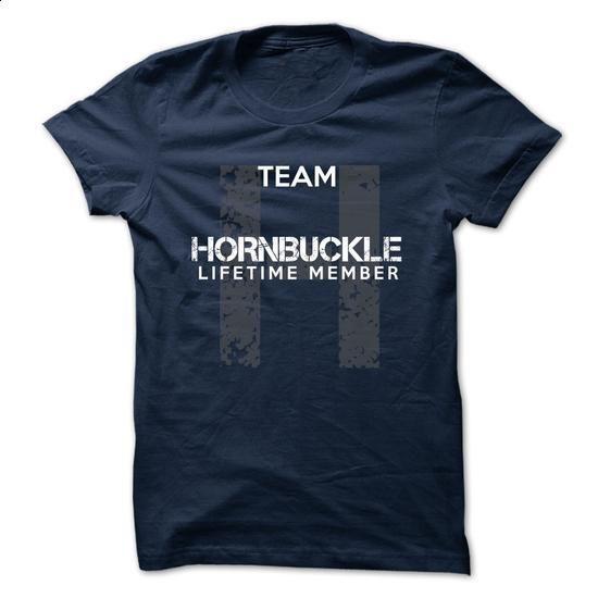 HORNBUCKLE - TEAM HORNBUCKLE LIFE TIME MEMBER LEGEND - teeshirt cutting #ringer tee #oversized tee