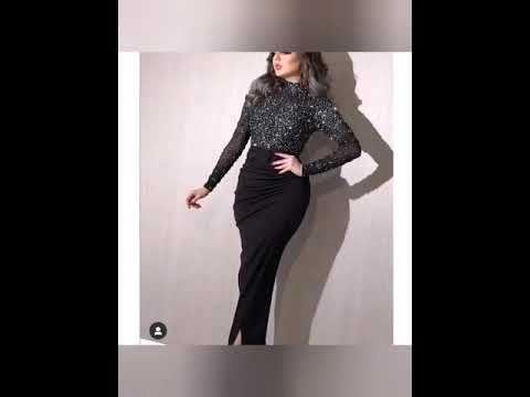 روب سواري فووووووور لسنة 2020 Youtube One Shoulder Dress Fashion Shoulder Dress