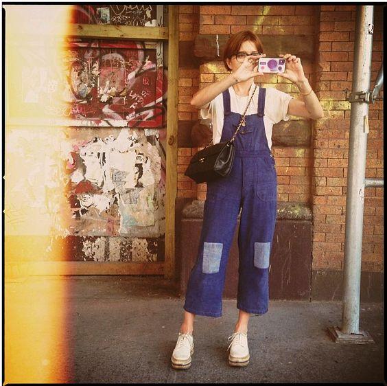 Stylist Heather-Mary Jackson, shot by Garance Dore
