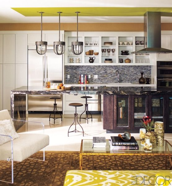 The Most Stylishly Organized Kitchens Ever   Its all about the shelves