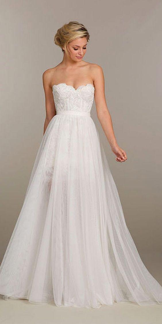 pretty wedding dresses designer ellie saab monique lhuillier 2016