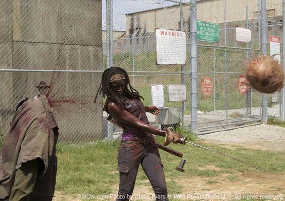 Michonne Walking Dead | ... Michonne diz onde se inspirou para compor a personagem | The Walking