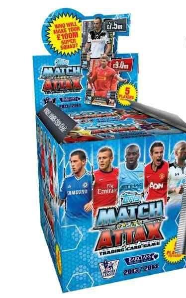 Match Attax 2013 - 2014 Booster Box.