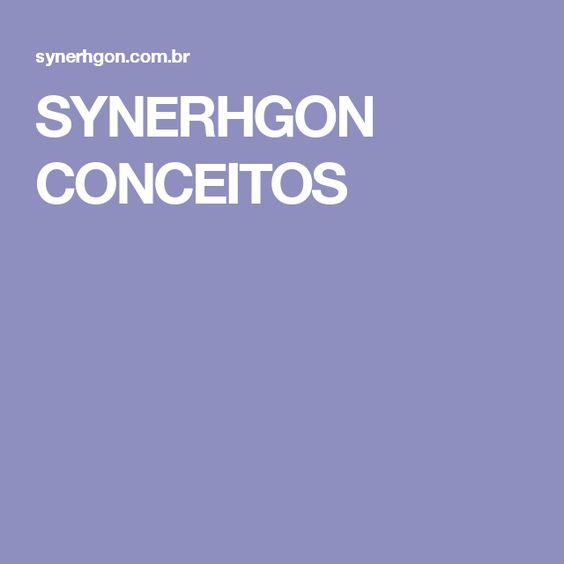 SYNERHGON CONCEITOS