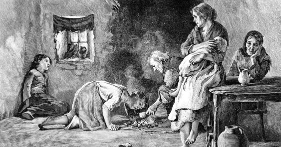 The Real Irish-American Story Not Taught in Schools | Common Dreams | Breaking News & Views for the Progressive Community.  The Potato Famine (or was it a famine?)  Jonathan Swift (1667-1745), author and satirist, wrote A Modest Proposal (1729).  where he suggests that the Irish eat their own children, is one of his most drastic pieces. http://www.art-bin.com/art/omodest.html