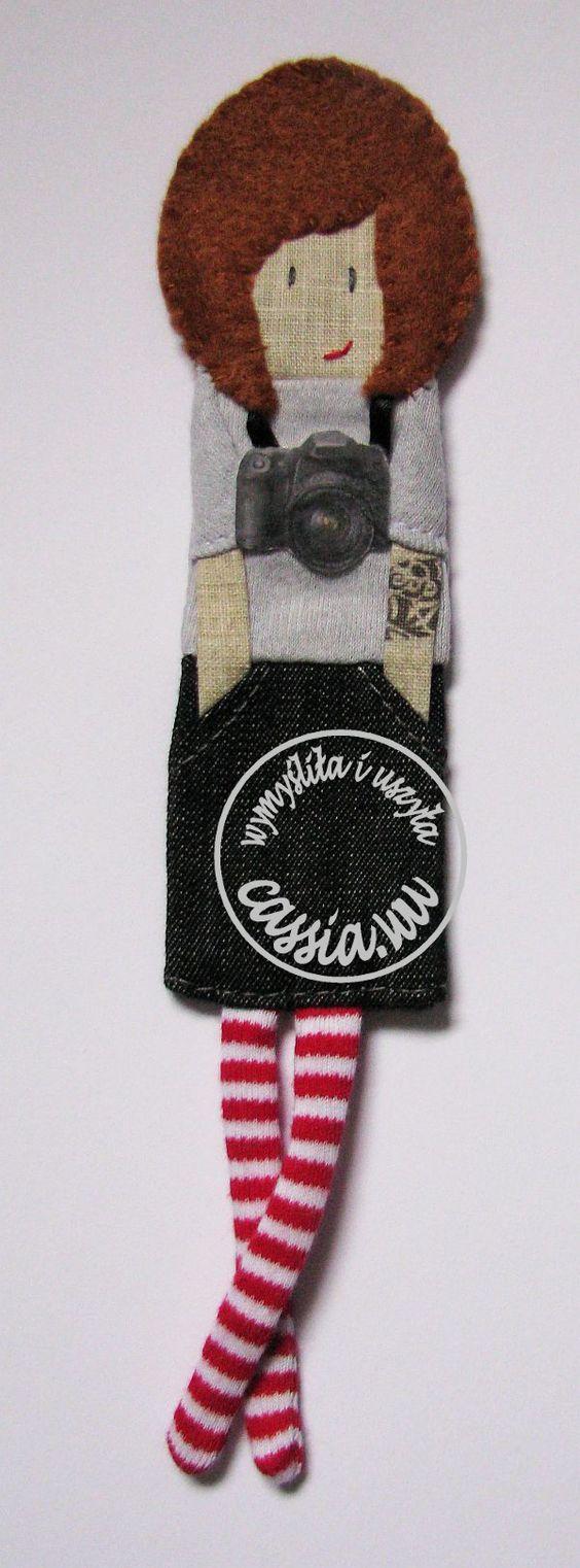 Girl- bookmark