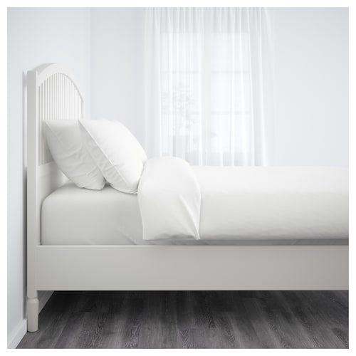 Tyssedal Bettgestell Weiss Ikea Deutschland Bettgestell Verstellbare Betten Bett Ideen