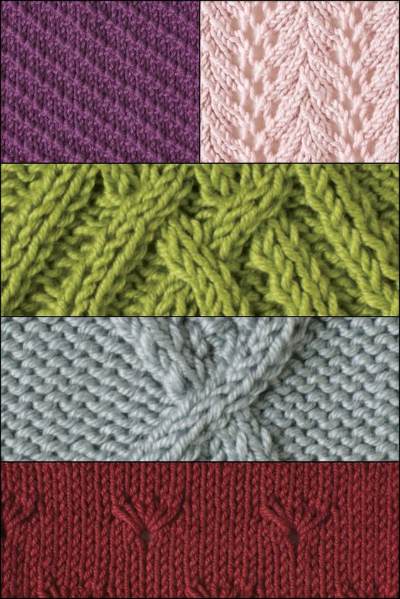 Beginner Knitting Projects : Crafts knitting stitches and on pinterest