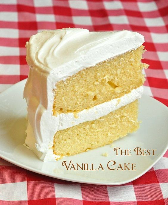 The best vanilla cake recipe rock recipes popular and for How to make a vanilla cake from scratch