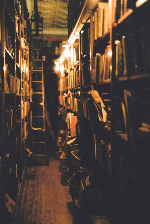 the smell of old books.