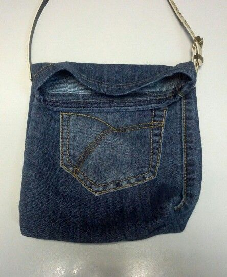 Reciclaje de vaqueros: Reciclaje Ideas, Ideas Art, Denim Len, With Jeans, Bags Denim Bag, Craft Ideas, Fabric Crafts, Bags, Room