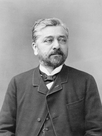 Alexandre Gustave Eiffel-französischer Ingenieur und Erbauer des Eiffelturms