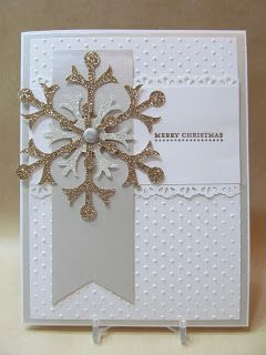 """cut strip for verticle...use ribbon or strip for horizontal...use snowflake embellishments or other """"tag"""" embellishments"""