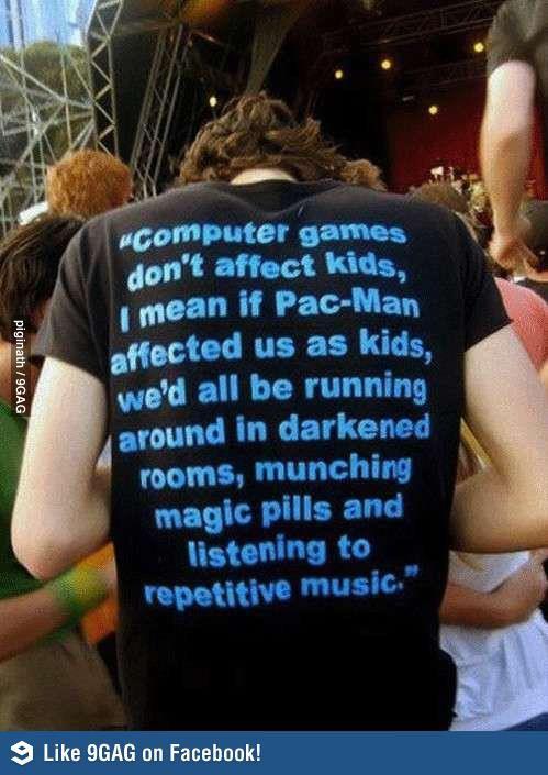 Computer games don't affect kids