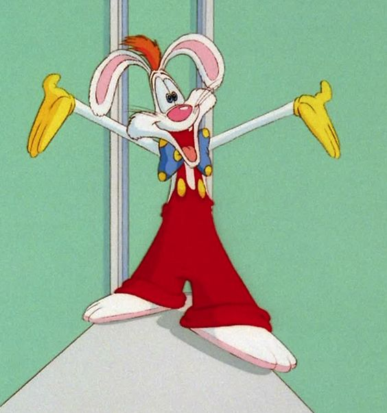 Roger Rabbit - A rabbits gotta do what a rabbits gotta do. /from my pin that I used to have
