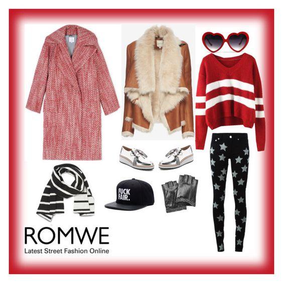 """ROMWE Sweater Contest"" by jadejacks on Polyvore featuring Yves Saint Laurent, Mason by Michelle Mason, Karl Lagerfeld, Loeffler Randall, Stella Jean, women's clothing, women's fashion, women, female and woman"