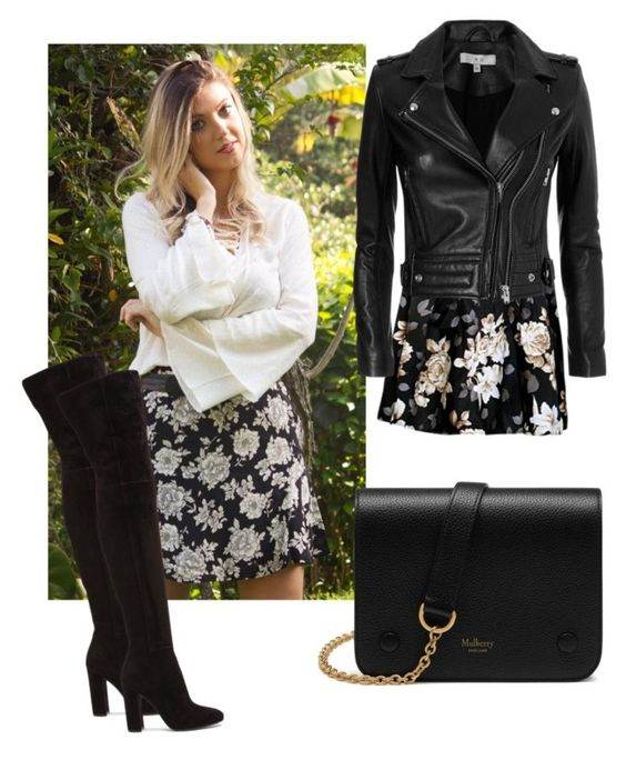 """Rockin winter"" by clarissa-grando on Polyvore featuring moda, IRO, Gianvito Rossi e Mulberry"
