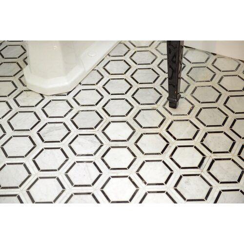 Harrison 6 X 6 Natural Stone Mosaic Tile Stone Mosaic Tile
