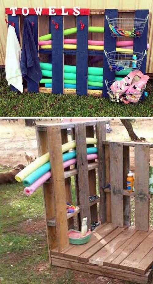 21 Facons D Utiliser Des Palettes En Bois Que Vos Enfants Vont Adorer Jardin Pour Enfants Palette Bois Bricolage Et Loisirs Creatifs