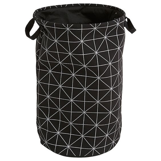 Target...Black U0026 White Geo Canvas Laundry Hamper | Laundry | Pinterest | Laundry  Hamper, Hamper And Laundry