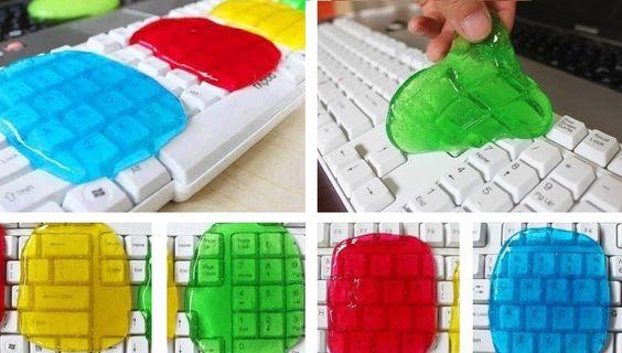 Cómo hacer una masa para limpiar tu teclado | Notas | La Bioguía