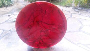 Top plate in fractal resin - 50 cm diameter - by Arriau