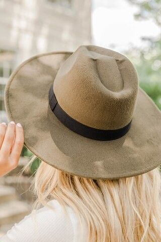 Stand With Me Olive Hat