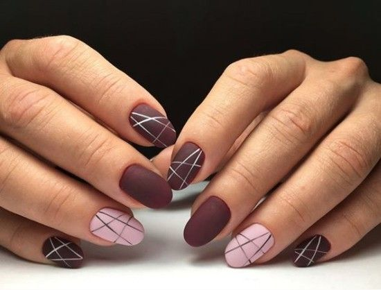 50 Nail Designs For Autumn And Winter Nails 2019 2020 Autumn