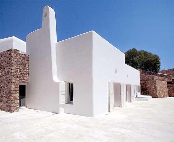 stucco and stone Architecture Pinterest Mykonos White