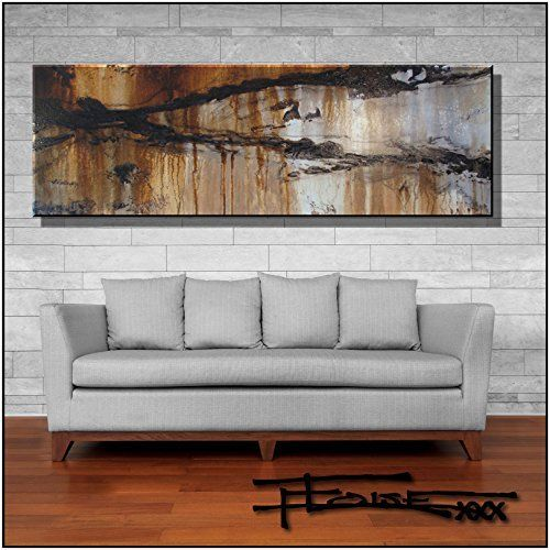 Abstract Modern Canvas Painting Contemporary Wall Art Limited Edition 72 X 24 X 1 5 Ready To Canvas Wall Art Contemporary Art Canvas Modern Canvas Painting